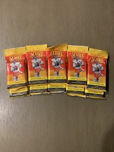 2021 Panini NFL Score Football Cards LOT OF 10 Value Fat Pack FACTORY SEALED