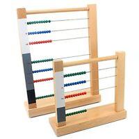 Boulier Montessori en bois matériel mathématiques éducatif pédagogique