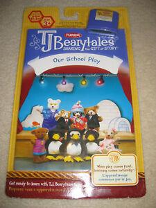 TJ BEARYTALES OUR SCHOOL PLAY book & cartridge  BRAND NEW IN PACKAGE