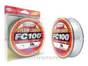 Sunline System Leader FC100 Fluorocarbon Shock Leader Select - 33yd/110yd Spool