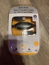 Belkin Easy Transfer Cable for Windows Vista with Laplink 8 ft (2.4m) long