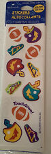 Hallmark Football Stickers - Sports Stickers - 3 Sheets- New In Package