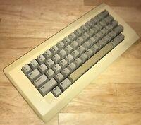 WORKING 1984 Apple Macintosh Original KEYBOARD Model M0110 Mac 128K 512K NICE!