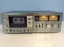 Vintage Sony Stereo Cassette Deck TC-K6B reproductor de cintas-En funcionamiento