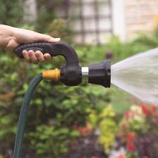 High Pressure Water Power Gun Spray Nozzle Garden Gym Hose Pipe Lawn Car Washing