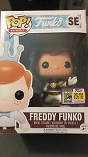 Funko Pop! 2017 SDCC Fundays 2017 Freddy as White Ranger 1/525 w/ Stacks case!