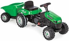 Kindertraktor Active Pedale mit Anhänger einstellbarer Sitz Traktor Top 07316