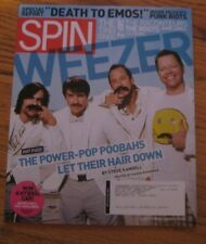 """Spin Magazine 2008 Special Report """"Death to Emos!"""" WEEZER BRAND NEW"""