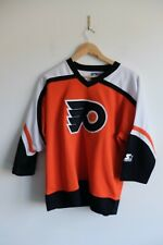 NHL Women's/Boys Vintage philadelphia flyers Starter Jersry 90s | L | Ice Hockey
