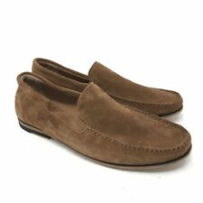 Kenneth Cole Reaction Shoes Size 9 Mens Brown Integer Driving Loafers Suede Mocs