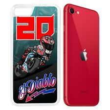 Coque iPhone (modèle au choix) - Fabio Quartararo MotoGP Pilote Cartoon
