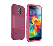 Logitech Protection [+] Case for Samsung Galaxy S5 - Plum/Pink ** NEW **