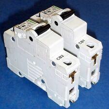Moeller 277Vac Single Pole Circuit Breaker Fazn B10 *Lot Of 2*