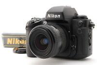 【N.MINT】 Nikon F100 Body + Nikkor AF 35-80mm F4-5.6 Lens w/Strap from JAPAN A98