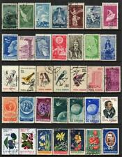 ROMANIA COLLECTION (Medium Format) 19 Pages of Good/Fine Used Stamps (608 TOTAL)