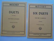 Abverkauf Noten Paket  Nr.21 –  Klarinette Mozart Set