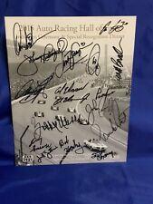 Indy 500 2015 HALL OF FAME Program PARNELLI ARIE BRACK CARPENTER UNSERS Signed