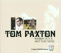 Tom Paxton - Ramblin' Boy/Ain't That News [CD]