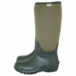Town & Country Wellington Boots, High Grip Tread, The Buckingham, Green, Size 11