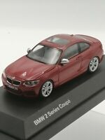 BMW 2 Series Coupe red  new Herpa 1:43 Scale Model car opening parts