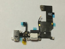 White iPhone 5S Charging Port Microphone & Headphone Jack Flex Replacement Part