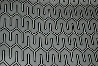 HD608 DWELL Studio Maze Work Modern Home Decor Heavy Cotton Drapery Fabric