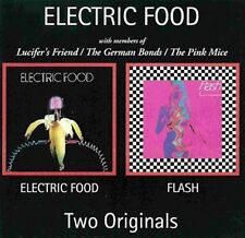 "Electric Food: ""S/T & Flash""  (2 in 1 CD)"