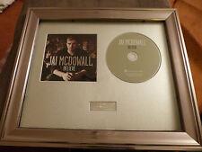 JAI McDOWALL - SIGNED/AUTOGRAPHED 'BELIEVE' FRAMED CD PRESENTATION. *BGT*