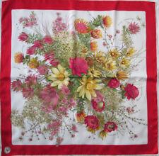 -Superbe foulard MANTERO soie TBEG vintage scarf 86 x 88 cm 656ae948c3a
