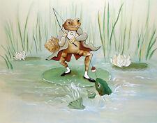 Potter Beatrix Fine Frog Print 11 x 14 #4435