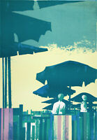 """Dino BOSCHI """"Estate"""" , 1971 litografia originale  firmata"""
