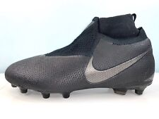 Nike Phantom Vsn Elite (Acc) Black Soccer Cleats Ao3262-001 Men Sz 4 = Women 5.5