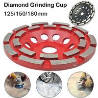 5''7''Diamond Segment Grinding Wheel Disc Cup Marble Concrete Granite Stone