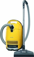 Miele Complete C3 Calima Canister Vacuum Canary Yellow Certified Refurbished