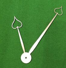 Reloj Antiguo Cuadrante Reloj Manos DC 7 hecha de acero de alto carbono * en el Reino Unido *