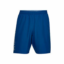 Under Armour Herren Woven Graphic Wordmark Short  Shorts blau NEU