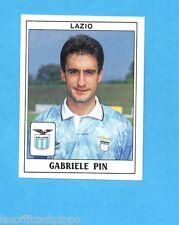 PANINI CALCIATORI 1989/90 -Figurina n.197- PIN - LAZIO -Recuperata