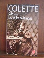 Colette Sido suivi de Les Vrilles de la vigne/ Le LIvre de Poche