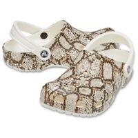 Crocs Classic Snake Print Clog Unisex Clogs | Slippers | garden shoes - NEW