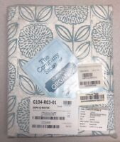 NEW The Company Store Classic Percale Fitted Sheet QUEEN - WATER