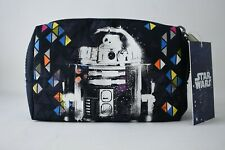 Kipling StarWars Double Zip Navy Blue Pouch Glow In Dark