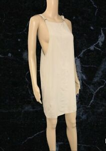 BNWT First And I Doeskin Isally Buckle Dress Size Small ( Up To Uk 10 )