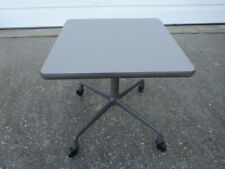 "Vintage Mid-Century Modern OG Herman Miller Eames Aluminum Group 20"" Side Table"