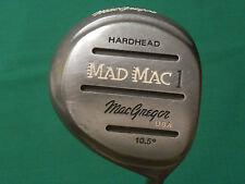 """MACGREGOR """"MAD MAC"""" 10.5* DRIVER - SUPERLITE GRAPHITE SHAFT - WITH HEAD COVER"""