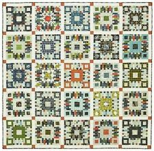 """New Pieced Quilt Pattern FIRESIDE CHAT 87"""" x 87"""""""