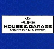 Various - Pure House and Garage-mixed by Majestic Cd3 State