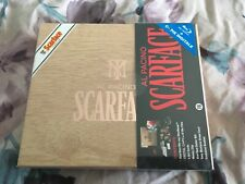 SCARFACE BLURAY STEELBOOK WORLD EXCLUSIVE ART CIGAR BOX WITH EXTRAS RARE NEW
