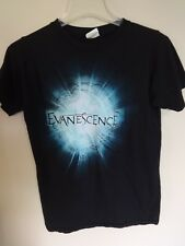 Euc * Evanescence * Band Graphic Printed Rock Band Tour T-Shirt Men Small
