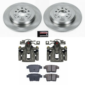 Power Stop for 05-07 Ford Five Hundred Autospecialty Kit w/ Calipers - Rear - ps