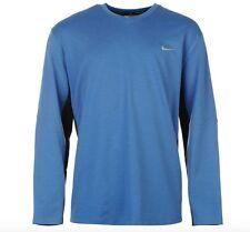 Nike Golf Herren langarm Sweater Pullover Blau Schwarz Größe XXL Neu mit Etikett